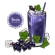 Black Currant Smoothie - GraphicRiver Item for Sale