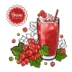 Red Currant Smoothie - GraphicRiver Item for Sale