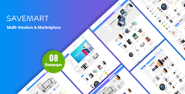 SaveMart - eCommerce PSD Template