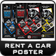 Rent a Car Poster Templates