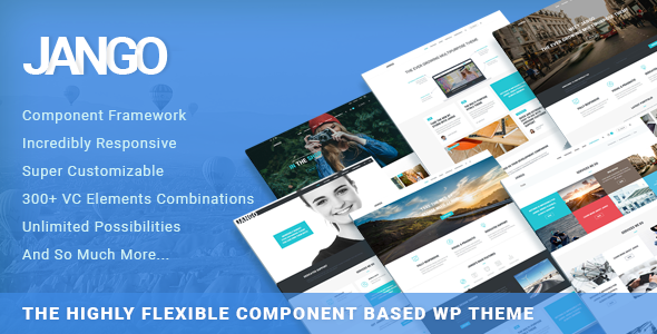 Jango | Highly Flexible Component Based WP Theme