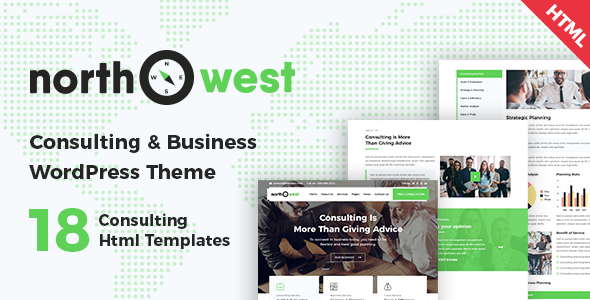 Northwest - Consulting HTML Template - Business Corporate