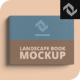 Lanscape Hard Cover Book Mockup - GraphicRiver Item for Sale