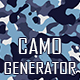 Camouflage Texture Generator - 12 PS Actions Vol.2 - GraphicRiver Item for Sale