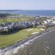 Aerial view of exclusive golf community on the Atlantic coast of - PhotoDune Item for Sale