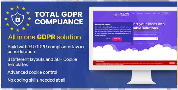 Total GDPR Compliance - WordPress Plugin for GDPR Compatibility            Nulled