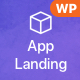 vApp | WordPress App Landing Page - ThemeForest Item for Sale