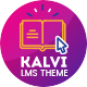 Kalvi - Learning Management System, Education Theme