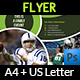 American Football Flyer Template - GraphicRiver Item for Sale