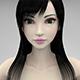 Beautiful girl 3D Model