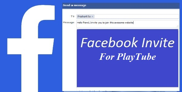 Facebook Invite For Playtube Free Download | Nulled