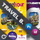 Travel Tours Flyer Bundle Templates