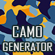Alternative Camouflage Texture Generator - 12 PS Actions - GraphicRiver Item for Sale