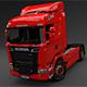 Scania Truck R730 V8 - 3D Model