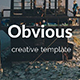 Obvious Creative Google Slide Template