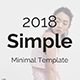 Simple Minimal Keynote Template - GraphicRiver Item for Sale