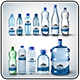 Water Bottle Mockup Pack 2-Graphicriver中文最全的素材分享平台