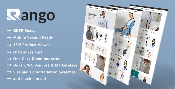 Rango - Modern Fashion WooCommerce WordPress Theme