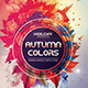 Autumn Colors Photoshop Flyer Template - GraphicRiver Item for Sale