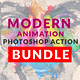 Modern Animation Photoshop Action Bundle - GraphicRiver Item for Sale