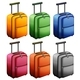 Luggage in Six Colors