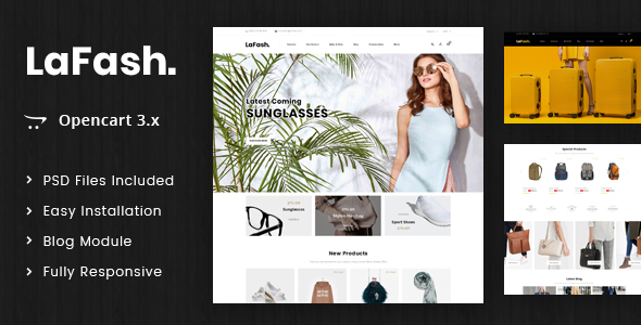 LaFash - Multipurpose OpenCart 3.x Theme - Shopping OpenCart