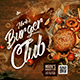 Burger Club Menu - GraphicRiver Item for Sale