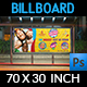 Kids Summer Camp Billboard Template Vol.2 - GraphicRiver Item for Sale