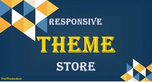 Responsive Theme Store
