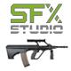 Weapon M134 Minigun Stop Spinning