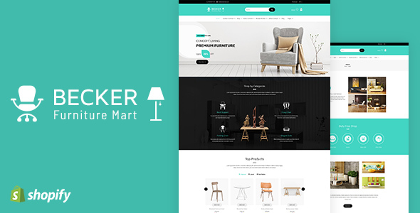 Becker | Sectioned Furniture & Lights Shopify Theme - Shopify eCommerce