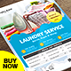 Laundry Services Flyer - Business Flyer - GraphicRiver Item for Sale