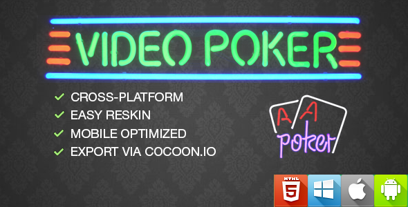 Video Poker - CodeCanyon Item for Sale