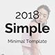 Simple Minimal Google Slide Template