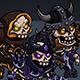 2D Character Pack - Skeleton Villains