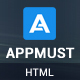 Appmust - Responsive App Landing Page Template - ThemeForest Item for Sale