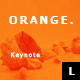 Orange Minimal Keynote - GraphicRiver Item for Sale