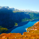 Ringedalsvatnet lake near Trolltunga - PhotoDune Item for Sale