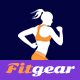 Fitgear – App Landing PSD Template - ThemeForest Item for Sale