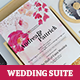 Rose Wedding Invitation Suite - GraphicRiver Item for Sale
