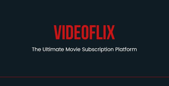 Videoflix - Tv Series Movie Subscription Portal Cms - CodeCanyon Item for Sale