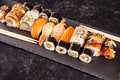 Variety mix of different types of sushi - PhotoDune Item for Sale