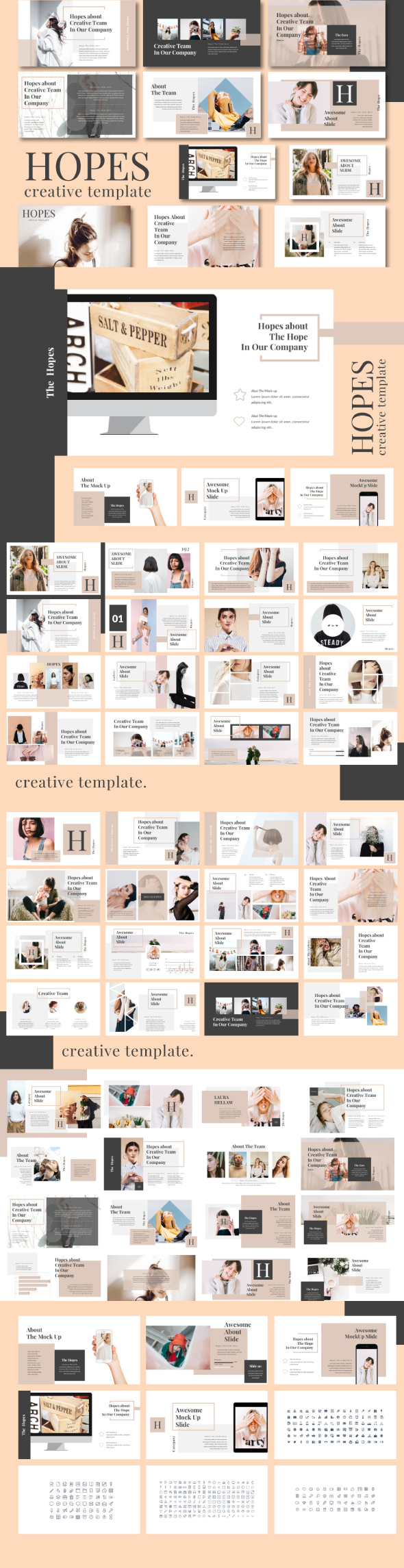 Hope Powerpoint Template - Creative PowerPoint Templates