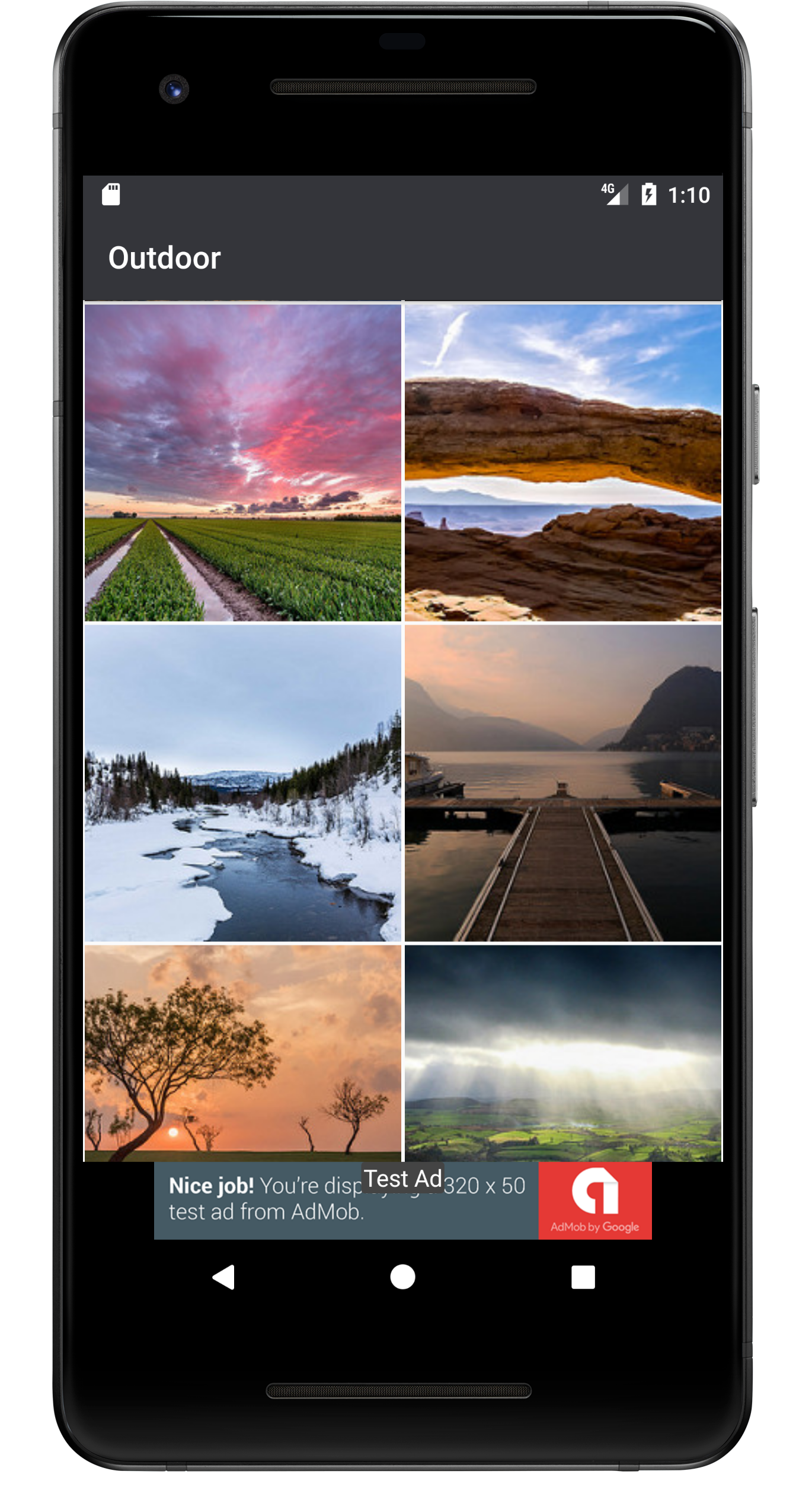 Android Wallpaper App Based On Flickr Api