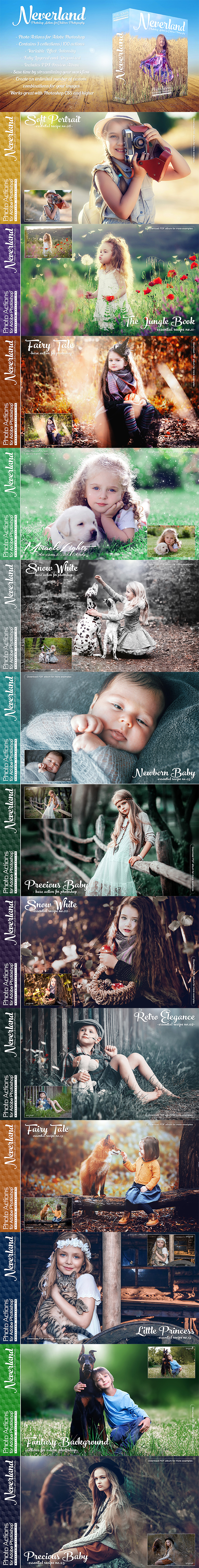 Actions for Photoshop / Neverland - Photo Effects Actions