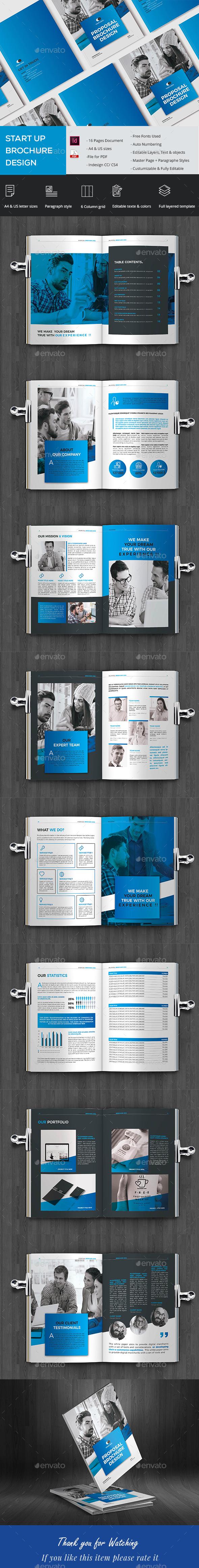 Eelegant Company Brochure - Brochures Print Templates