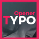 Opener Typo - VideoHive Item for Sale