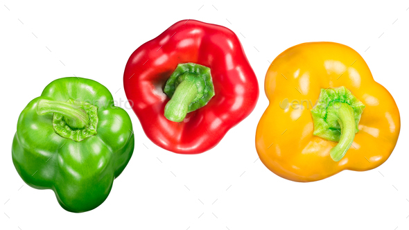 7ec5cc841d05 Red green yellow bell peppers