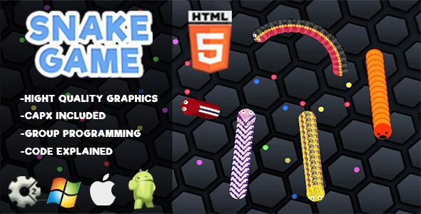 Snake Game - HTML5 Casual            Nulled