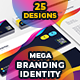 Colorful Mega Branding Identity - GraphicRiver Item for Sale